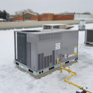 A new HVAC unit from Buchanan & Hall