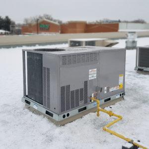 A new HVAC unit from Buchanan & Hall