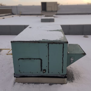 An old HVAC Unit