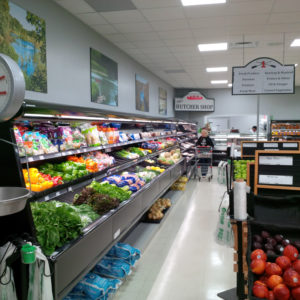 A new refrigeration unit installed by Buchanan & Hall